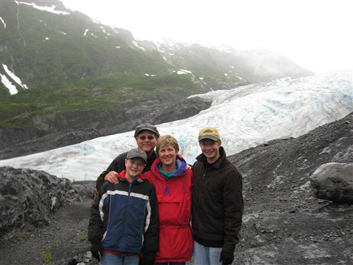 The Madisons in Alaska